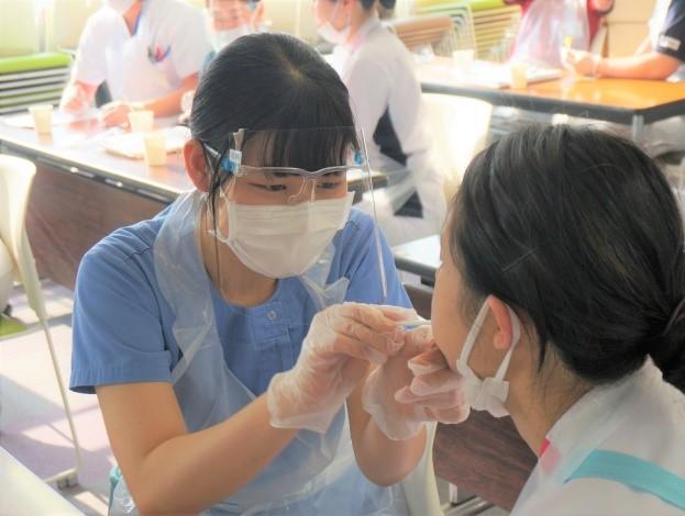 新人看護師研修実施しています!